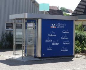 Bild der Volksbank Franken eG, SB-Schlierstadt